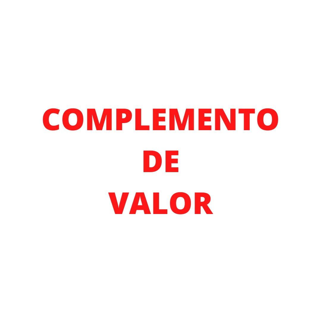 COMPLEMENTO DE VALOR - GUILHERME SLONGO (J)