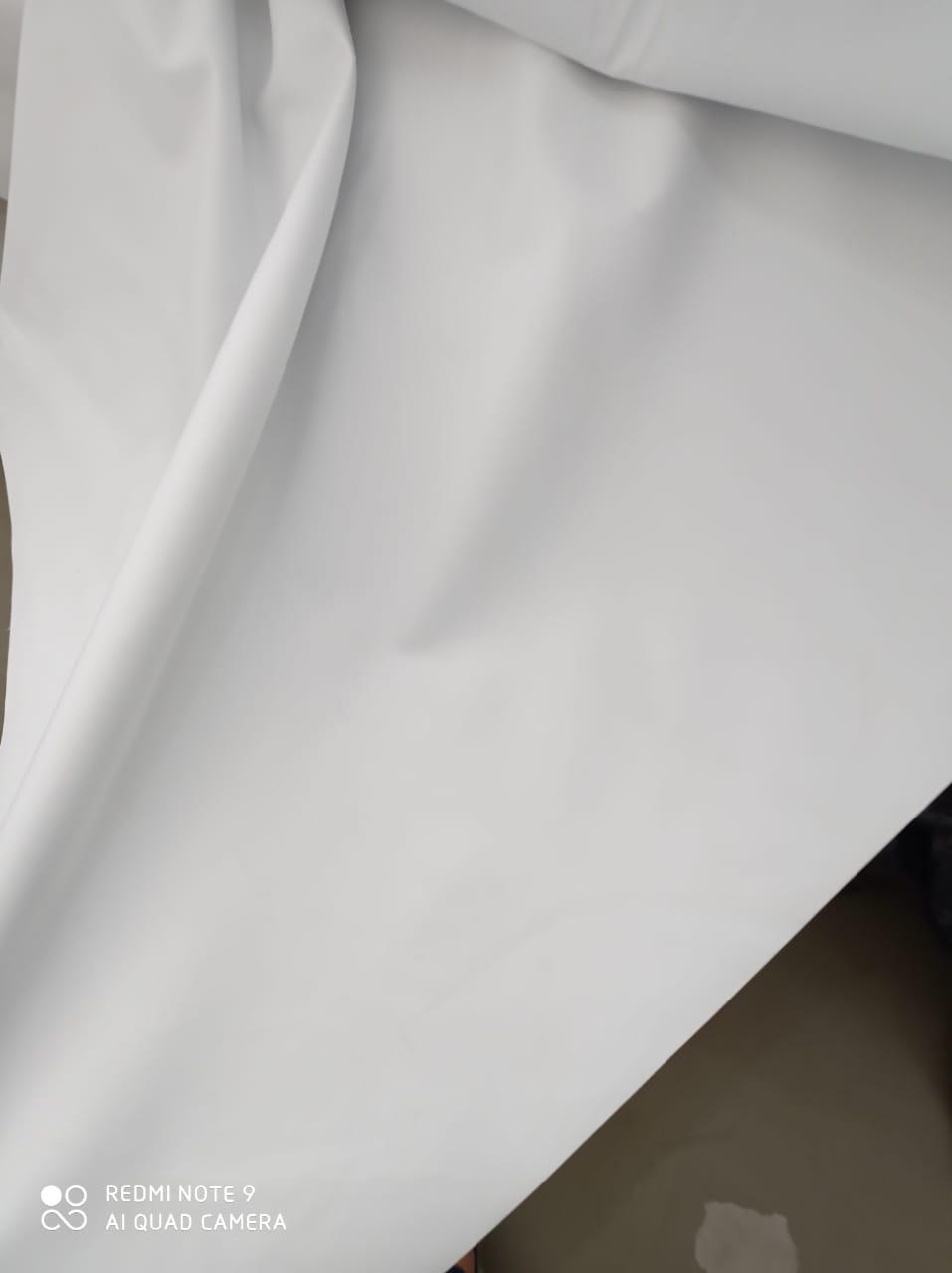 Cortina de gaze de linho bege com forro Blackout 100% de 6,00 x 2,45 para trilho suíço duplo barra de 20 cm (ver descrição) WM
