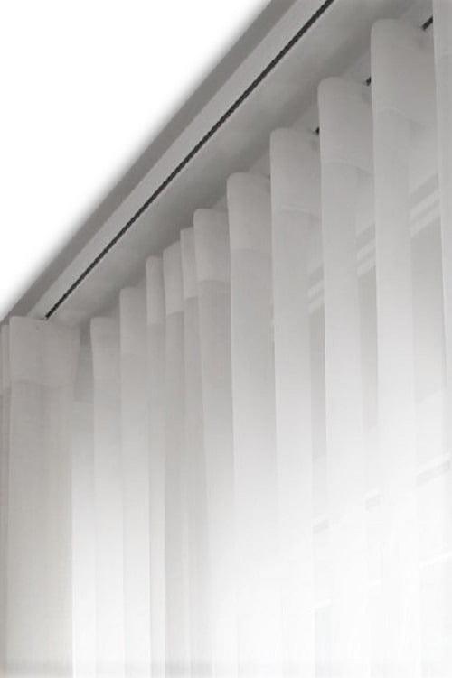 Cortina de Voil Liso Branco com Forro Blackout 100% Branco  - Para Trilho Suisso Max Simples 3,00x2,65 ( Ver descrição) w