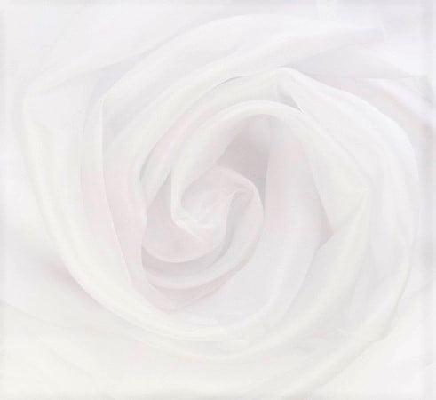 Cortina Voil liso Branco com forro Blackout 70% Branco Gelo 2,70 x 2,90 -  Para trilho suisso MAX Simples (H)