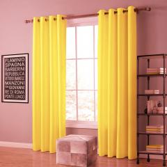 Cortina de Oxford Luxo 3,00 - Amarelo