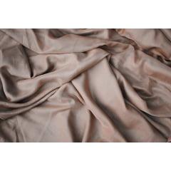 2 Cortinas de Voil Chocolate com Forro Microfibra Palha - 7,00 x 2,38